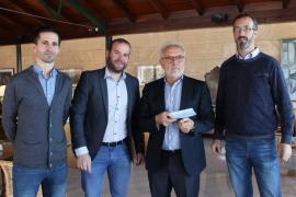 El Club Pollentia Resort destina 5.300 euros a la conservación de s'Albufereta