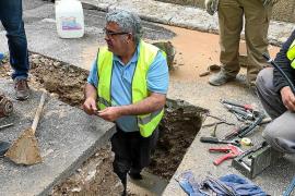 Sa Pobla ahorra 18.000 euros al año con el arreglo de 20 fugas de agua