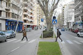 A la caza de los conductores que no respeten los pasos de cebra en Palma