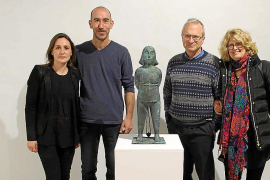 Morro presenta su obra en ses Cases Noves de Santanyí
