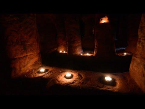 Una madriguera de conejo permite acceder a la 'cueva de los Templarios'