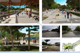 El proyecto de la plaza Mallorca elegido por los vecinos de Inca triplica las zonas verdes
