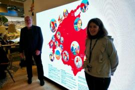 El Consell de Mallorca presenta el 'Movie map' en la feria ITB de Berlín