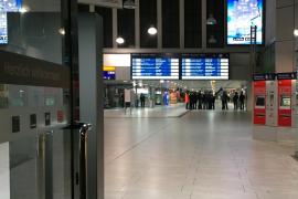 Siete heridos y un detenido tras un ataque con un hacha en la estación de Düsseldorf