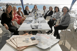 De izquierda a derecha, Encarna Piñero, vicepresidenta ejecutiva del Grupo Piñero; Heidi Stadler, directora general de First Mal