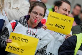 Huelga en los aeropuertos berlineses