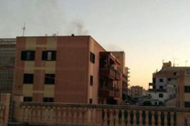 Incendio en el hotel Palma Bay de s'Arenal