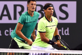 Nadal y Tomic avanzan en el dobles en Indian Wells