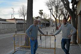 Los comerciantes de Peguera, molestos por las reiteradas obras