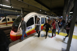 Huelga de tren y metro
