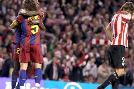 El Barça sobrevive