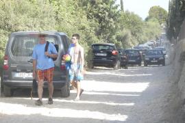 El Govern quiere prohibir de nuevo aparcar en la zona de Cala Varques