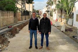 El Ajuntament de Santanyí invierte 900.000 euros en mejoras en Cala d'Or y Cala Figuera