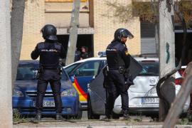 Detenido el hombre que se atrincheró en Madrid tras disparar a su expareja