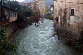 Vidal cifra en 2,5 millones el daño por temporal en la red de torrentes y dice que han recibido 115 peticiones de ayuda