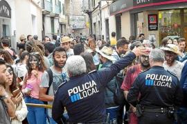 Medidas sin precedentes contra el botellón y las drogas el día del Firó de Sóller