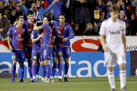 El Levante inflige la segunda derrota de la temporada al Real Madrid