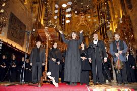 Un problema en la voz impide a Maria del Mar Bonet cantar la Sibil·la en la Seu