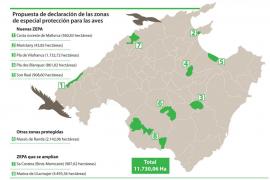 Agricultores del Pla y Santa Margalida se plantan contra la ampliación de zonas ZEPA