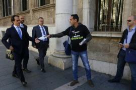 Álvaro Gijón declara en calidad de investigado ante el juez por el caso ORA