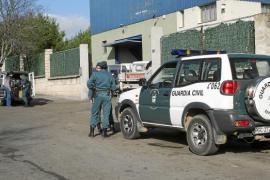 Gran operativo de la Guardia Civil contra la venta ilegal de chatarra y cobre en Palma