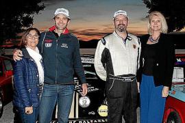 Entrega de trofeos de la XIII Oris Rally Clásico en Puerto Portals