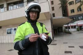 La Policía Local controlará específicamente el uso del cinturón de seguridad en Palma