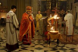 Los 4.000 ortodoxos residentes en Mallorca celebraron ayer la Navidad