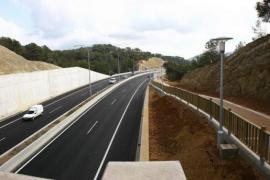 Las obras de reparación de la autovía Palmanova-Peguera en dirección a Palma se inician el próximo lunes