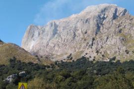 Un incendio arrasa 1,8 hectáreas de carrizo en Escorca