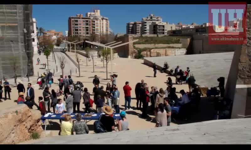Los vecinos celebran la inauguración de una nueva fase de rehabilitación de Es Baluard del Príncep