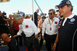Sainz y Coma, optimistas pero cautelosos ante lo más duro del Dakar