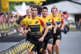 Mario Mola finaliza segundo en la Superliga de Triatlón