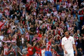 El Atlético de Madrid somete al Sevilla