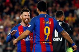 Messi mantiene vivo al Barcelona