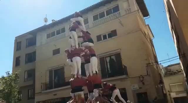 «Los 'castells' se luchan hasta el final»