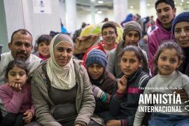 AIB explica al presidente del Parlament su campaña para acoger a refugiados
