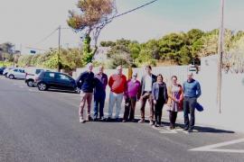 El Consell mejora dos carreteras de Pollença