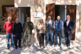 La finca pública de Menut inaugura una caldera de biomasa