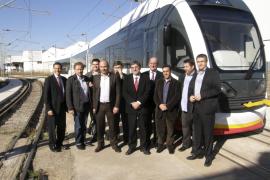 La primera unidad del Tram Tren estará  en Mallorca en marzo