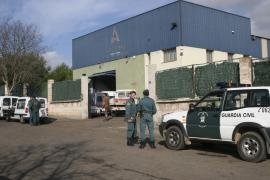 La Guardia Civil recupera seis toneladas del cobre robado en Binissalem