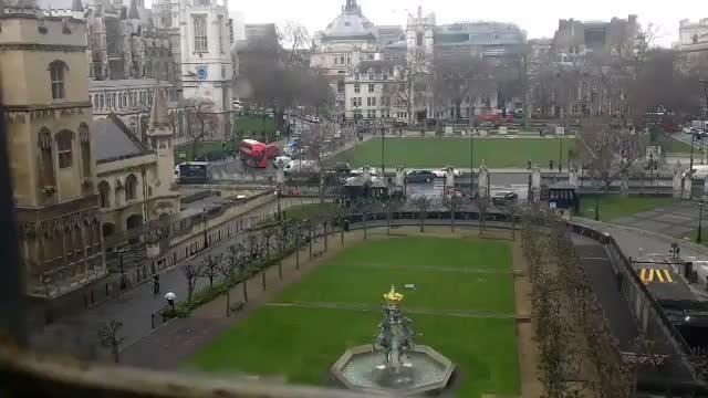 Varios heridos tras un tiroteo y un atropello en el exterior del Parlamento británico