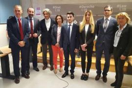 Elionor Vidal elegida como la mejor oradora jurídica de la UIB