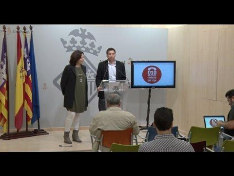 El Ajuntament de Palma reparó antes de las 72 horas el 83 % de las incidencias de 2016