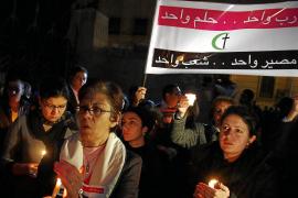 Un cristiano muerto y cinco heridos por disparos de la policía en El Cairo