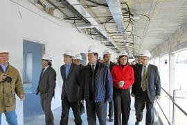 El nuevo centro de salud de So na Monda estará listo dentro de dos meses