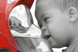Niños con síndrome de Down, en el calendario de Bombers de Mallorca