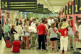 Las pernoctaciones hoteleras descienden un 3,3% en Balears en febrero