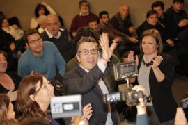 Patxi López pide en Palma «no pasar facturas, sino sumar y unir al PSOE»