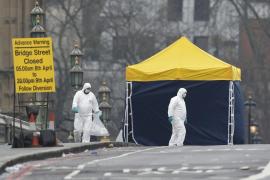La Policía confirma 50 heridos y nueve detenidos por el ataque en Westminster